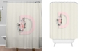 Deny Designs Iveta Abolina Pivoine D Shower Curtain