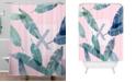 Deny Designs Iveta Abolina Peaches N Cream X Shower Curtain