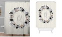 Deny Designs Iveta Abolina Silver Dove Q Shower Curtain