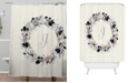 Deny Designs Iveta Abolina Silver Dove I Shower Curtain
