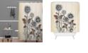 Deny Designs Iveta Abolina Frozen Dreams Shower Curtain
