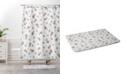 Deny Designs Iveta Abolina Study in Gray VIII Bath Mat