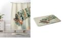 Deny Designs Iveta Abolina Agate Chevron Bath Mat