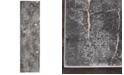 "Kathy Ireland Home KI35 Heritage KI353 Charcoal 2'2"" x 7'6"" Runner Area Rug"