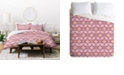 Deny Designs Holli Zollinger Otali Marsala Twin Duvet Set