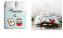 Deny Designs Heather Dutton Happiness Is Toast And Jam Twin Duvet Set