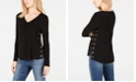 INC International Concepts INC Grommet-Trim High-Low Top, Created for Macy's