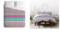 Deny Designs Iveta Abolina Pink Duvet Set, Twin
