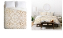 Deny Designs Iveta Abolina Maze v2 Queen Duvet Set