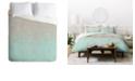 Deny Designs Iveta Abolina Hint of Mint Queen Duvet Set
