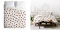 Deny Designs Iveta Abolina Wood Origami Queen Duvet Set