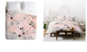 Deny Designs Iveta Abolina Coral Dust Twin Duvet Set