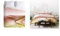 Deny Designs Iveta Abolina Coral Heat Twin Duvet Set