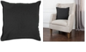"""Rizzy Home Basic Solid 20"""" x 20"""" Poly Filled Pillow"""
