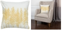 """Rizzy Home 18"""" x 18"""" Trees in a Line Poly Filled Pillow"""