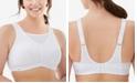 Glamorise Women's Full Figure No-Bounce Camisole Wirefree Sports Bra #1066