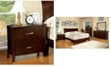 Furniture of America Ownby Transitional Nightstand