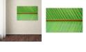 "Trademark Global Cora Niele 'Leaf Texture V' Canvas Art, 22"" x 32"""