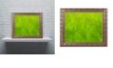 """Trademark Global Cora Niele 'Leaf Texture VII' Ornate Framed Art, 11"""" x 14"""""""