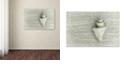 "Trademark Global Cora Niele 'Japanese Wonder Shell' Canvas Art, 22"" x 32"""