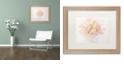 "Trademark Global Cora Niele 'Pink Parrot Tulips Bouquet' Matted Framed Art, 16"" x 20"""