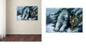 "Trademark Global Jenny Newland 'Big Brother' Canvas Art, 22"" x 32"""