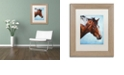 "Trademark Global Jenny Newland 'Cherokee' Matted Framed Art, 11"" x 14"""