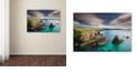 """Trademark Global Michael Blanchette Photography 'Cliffs of Mangersta' Canvas Art, 12"""" x 19"""""""