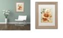 """Trademark Global Nick Bantock 'Japan Tiger' Matted Framed Art, 11"""" x 14"""""""