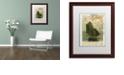 "Trademark Global Nick Bantock 'Jersey Sailboat' Matted Framed Art, 16"" x 20"""