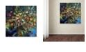 """Trademark Global Nick Bantock 'Tree of Life' Canvas Art, 14"""" x 14"""""""