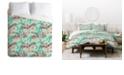 Deny Designs Holli Zollinger Tigerlily King Duvet Set
