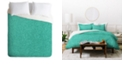 Deny Designs Holli Zollinger Linen Marina Queen Duvet Set