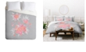 Deny Designs Iveta Abolina Coral Nostalgia King Duvet Set