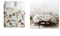 Deny Designs Iveta Abolina Carmella Creme Queen Duvet Set