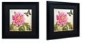 "Trademark Global Color Bakery 'Aja' Matted Framed Art, 16"" x 16"""