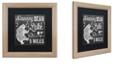"Trademark Global Color Bakery 'Lake House Ii' Matted Framed Art, 16"" x 16"""