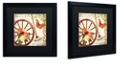 "Trademark Global Color Bakery 'Vermont Summer I' Matted Framed Art, 16"" x 16"""