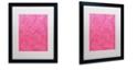 "Trademark Global Color Bakery 'Petals Of Paris Viii' Matted Framed Art, 16"" x 20"""
