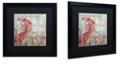 """Trademark Global Color Bakery 'Restaurant Seafood I' Matted Framed Art, 16"""" x 16"""""""