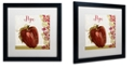"Trademark Global Color Bakery 'Cucina Italiana Vii' Matted Framed Art, 16"" x 16"""