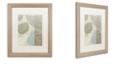 """Trademark Global Color Bakery 'Leaf Story Vi' Matted Framed Art, 16"""" x 20"""""""