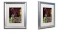 "Trademark Global Color Bakery 'On The Hunt Iv' Matted Framed Art, 16"" x 20"""