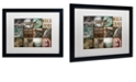 "Trademark Global Color Bakery 'Cabelas' Matted Framed Art, 16"" x 20"""