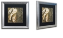 """Trademark Global Color Bakery 'Danse I' Matted Framed Art, 16"""" x 16"""""""