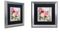 "Trademark Global Color Bakery 'Chalet D'Ete Roses' Matted Framed Art, 16"" x 16"""