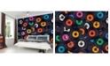 Brewster Home Fashions Vinyl Music Wall Mural