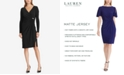 Lauren Ralph Lauren Shirred Jersey Dress