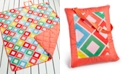 """Martha Stewart Collection  CLOSEOUT! Carnival Diamond 60"""" x 72"""" Beach Blanket, Created for Macy's"""
