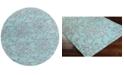 Surya CLOSEOUT!  Cosmopolitan COS-9202 Teal 8' Round Area Rug